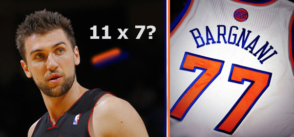 Andrea Bargnani giocherà con i New York Knicks
